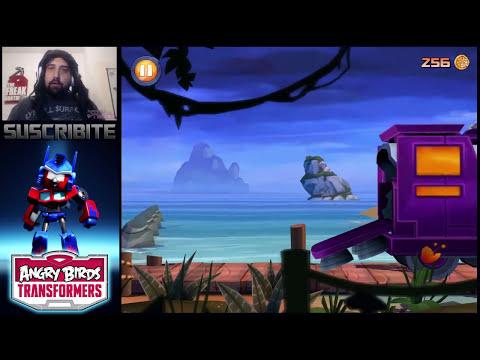 QUE MIERDA ES ESTO? TRANSFORMERS? | Angry Birds Transformers + Saludos!