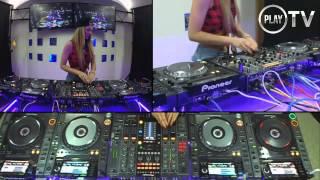 4 CDJs mixing by Djane Djoly Vol1