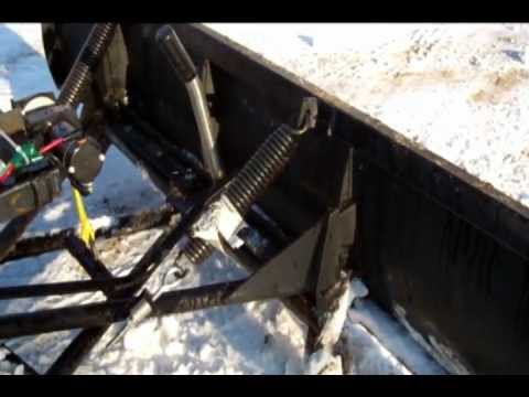 Homemade Snow Plow >> Snow Clearing the Easy Way With My Homemade Snow Plow Overview - YouTube