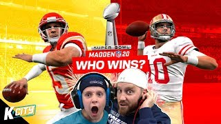 Super Bowl 2020 Winners Prediction Game in Madden NFL 20! K-CITY GAMING