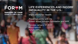Life Experiences and Income Inequality in the U.S.: Implications for Health
