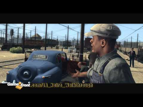 LA Noire Walkthrough - PT. 6 - Story Mission 5 - The Driver's Seat - Part 1