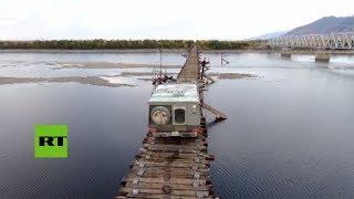 Este es el puente más peligroso de Rusia