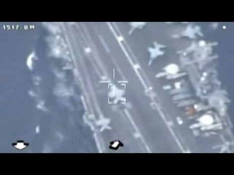 Iran releases videos of drone surveillance of US carrier