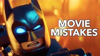 10 Biggest Lego Batman MOVIE MISTAKES You Missed | Lego Batman Movie