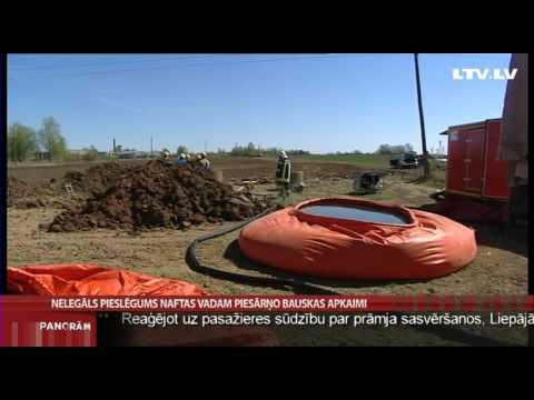 Nelegāls Pieslēgums Naftas Vadam Piesārņo Bauskas Apkaimi video