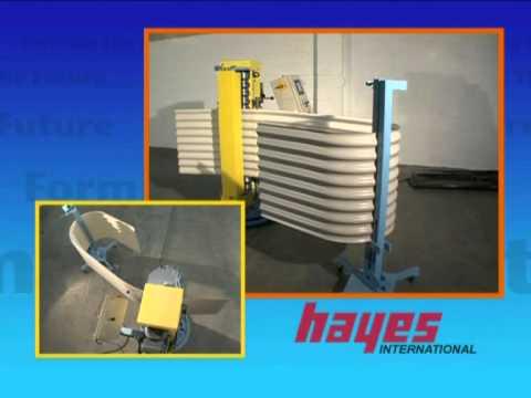 Hayes Corrugated Auto Curving Machine Youtube