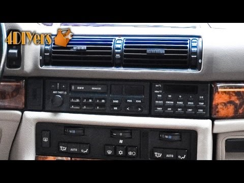 DIY: BMW Radio Removal