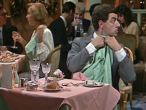 Mr Bean - The Restaurant -- Im Restaurant video