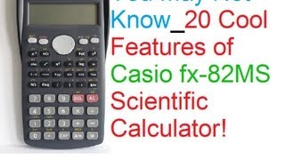 download lagu You May Not Know: 20 Cool Features Of Casio gratis