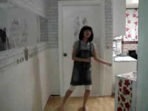 Cute Korean Middle School Girl Dancing To Tell Me video