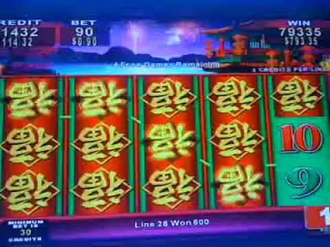 china shores slot machine big win