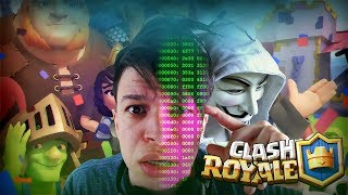 Clash Royale: ENCONTREI UM HACKER NO CLASH ROYALE