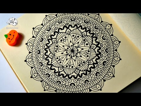 Мандала онлайн рисовать