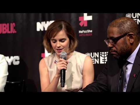 HeForShe Arts Week | An Intimate Conversation: Emma Watson & Forest Whitaker