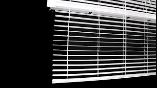 How to Shorten a Horizontal Blind