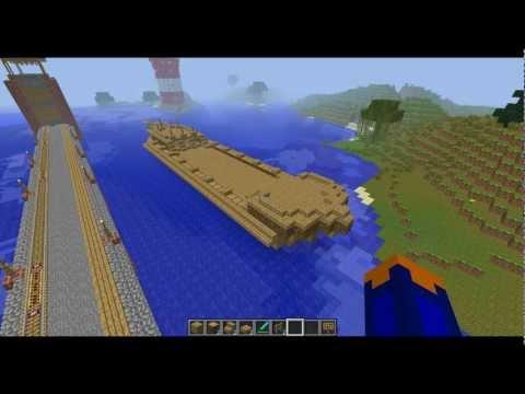 D'un Bateau Sur Minecraft