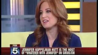 Jennifer Hutt on Good Day NY Discussing her new book -Whateverland-.mp4