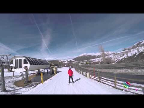Dollar Mountain Quarter Dollar Beginner's Run Sun Valley Idaho USA v 3