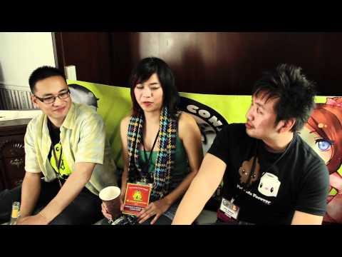 Anime Conji Press Interviews: Nerd Reactor