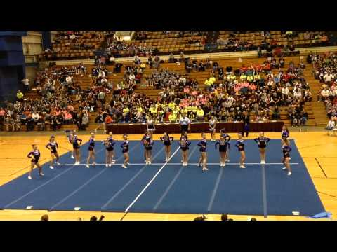 Marshwood Varsity Cheering Maine States 2013