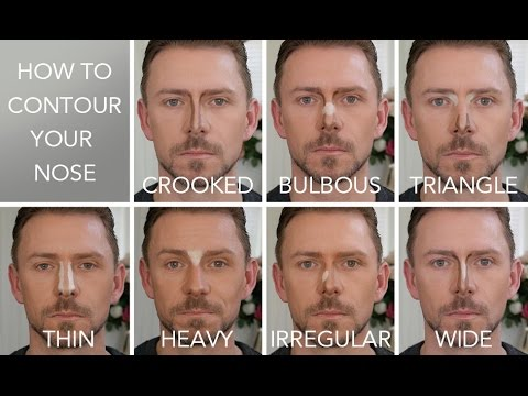 HOW TO CONTOUR THE 7 NOSE SHAPES!!!!