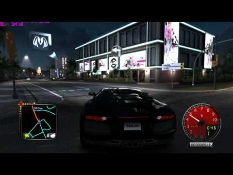 Test Drive Unlimited 2 l Lamborghini Aventador LP700 Night Ride Part 1/2
