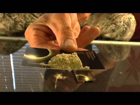 Easy simple dry sift hash from Opus Pharms