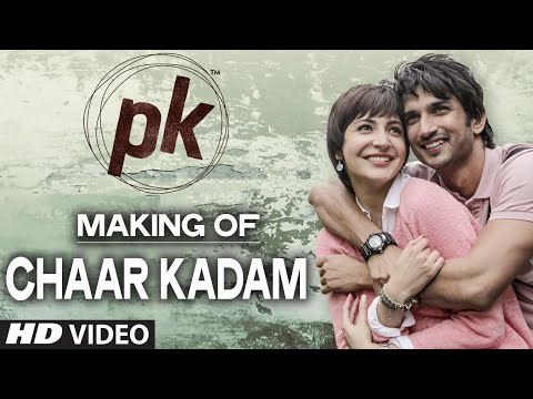 Making of 'Chaar Kadam' Video Song | PK | Sushant Singh Rajput | Anushka Sharma | T-series