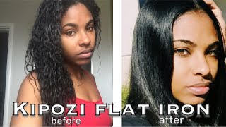 Best Flat Iron on Natural Hair 2018 RATED 5 STARS