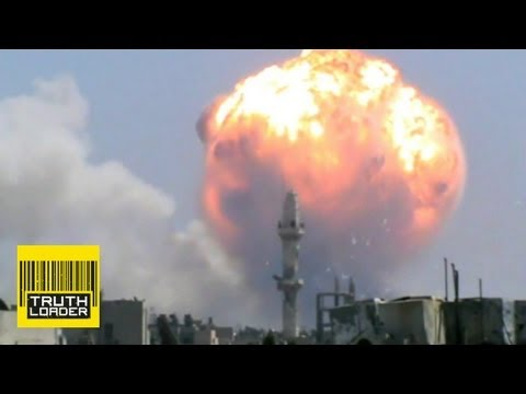Huge explosion rips through ammo store in Syria - Truthloader