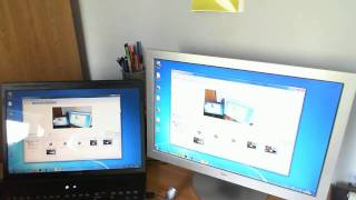 How to Setup a Dual Monitor Display!