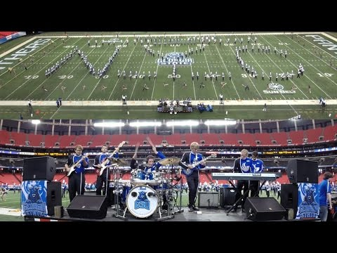 Live Drumming w/ GSU Marching Band, Show 1