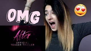 REACTION AL TEASER TRAILER UFFICIALE DI #AFTER!