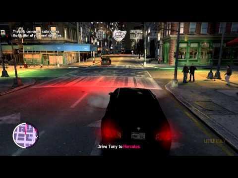 похождение GTA IV TBoGT c RostikGtX миссия 1 I LUV LC (1080p)