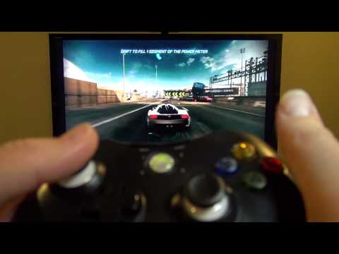 Android MK808 Mini PC Gaming Using An Xbox 360 Controller Works Great!