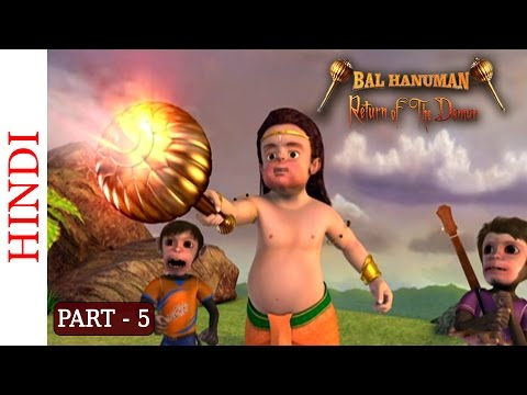 Bal Hanuman - Return Of The Demon - Part 5 Of 5 - Hindi Animated Story video