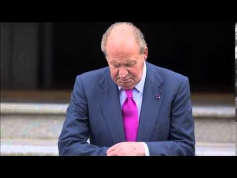 King Juan Carlos of Spain abdicating - MUST WATCH