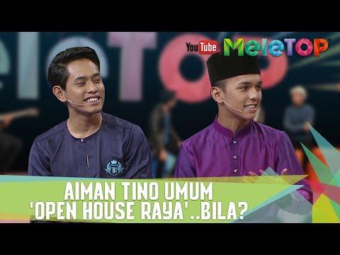 download lagu Aiman Tino Umum 'Open House Raya'..Bila? gratis