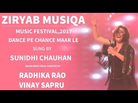 Sunidhi Chauhan Dance Pe Chance With Radhika Rao & Vinay Sapru