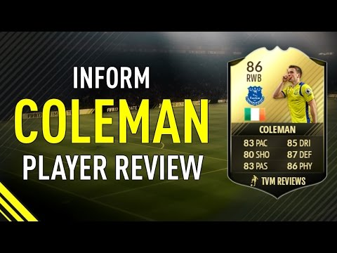 FIFA 17 SIF COLEMAN (86) PLAYER REVIEW