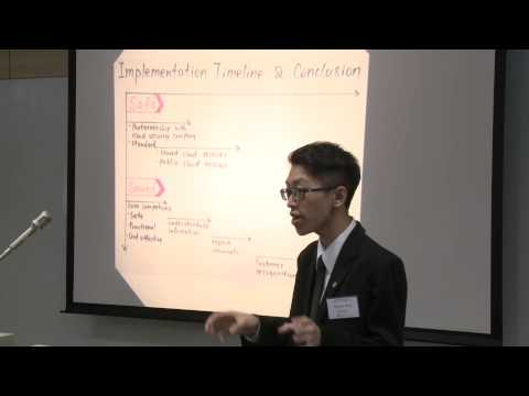 HSBC / HKU Asia Pacific Business Case Competition 2015 Round 4B2 The Hong Kong Polytechnic