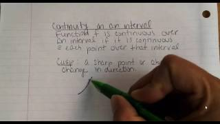 2.4 Continuity and Discontinuity