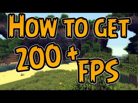 How to Get 200+ fps on Minecraft 1.8.8 and make it less laggy