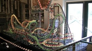 The Great Divide - Knex Dueling Tilt Coaster videomix