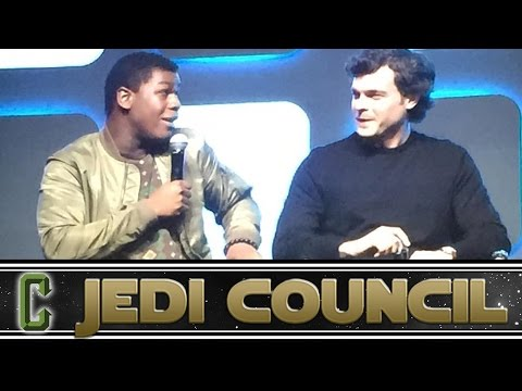 Star Wars Celebration Day 3 Report - Collider Jedi Council