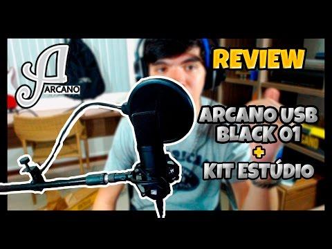 Arcano Black 01 [Bku 01] - Review e teste de áudio COMPLETO [PT-BR]