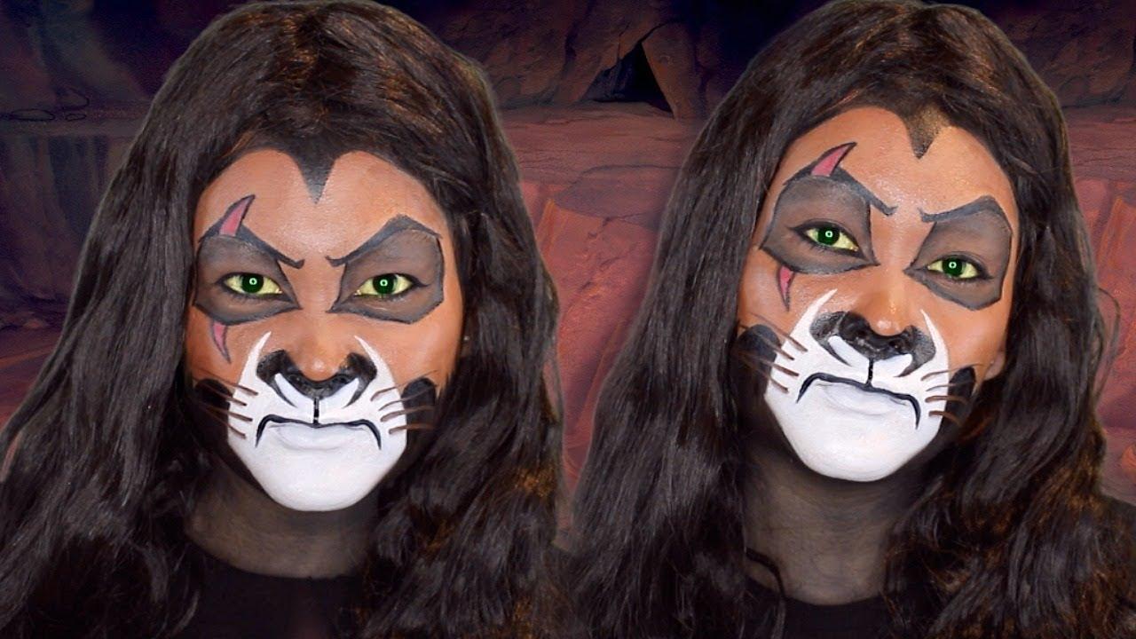 Scar makeup lion king