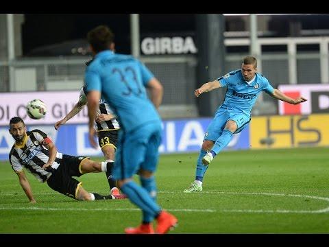 Lukas Podolski vs Udinese (Away) 14-15 (28.04.2015) HD 720p