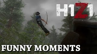 H1Z1 - Funny/Fail Moments - Gameplay Shorts